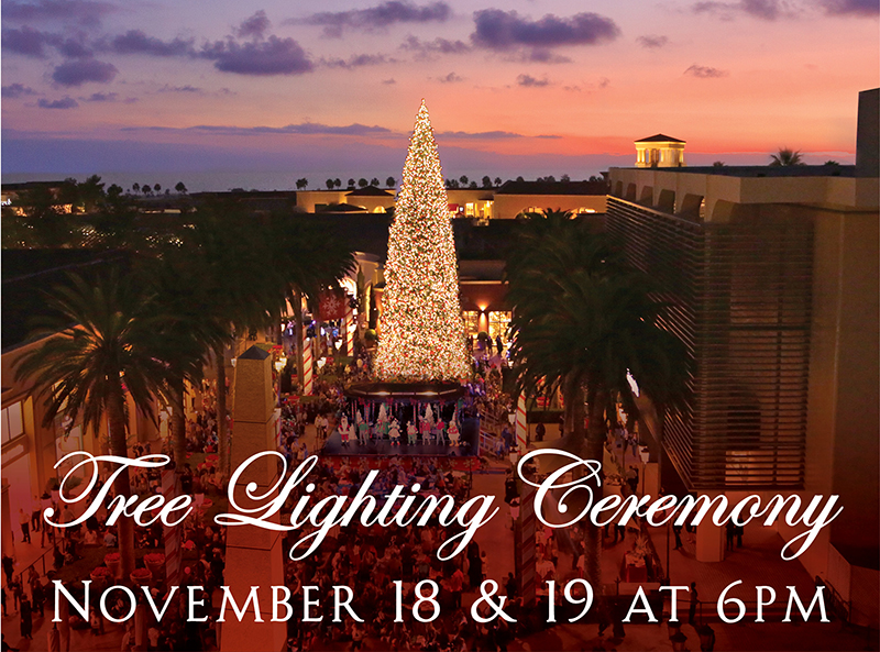 Fashion Island Is Returning To Its Clic Tree Lighting Tradition With The Annual Ceremony On November 18 19 From 6pm 6 30pm In Neiman Marcus