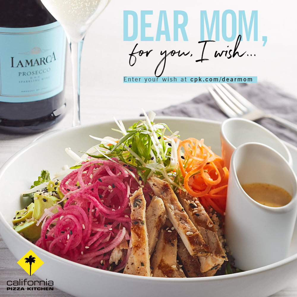delightful California Pizza Kitchen Fashion Island #1: Celebrate Momu0027s sparkle all month long with California Pizza Kitchen, Fashion  Island! Dine on Motheru0027s Day, May 14th, and treat mom to her CPK favorites.