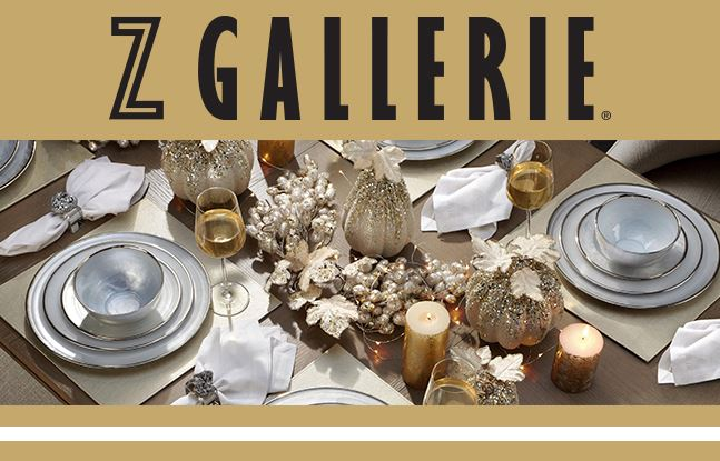 Z Gallerie Introudces Their Guide To Holiday Decorating Visit At Fashion Island In