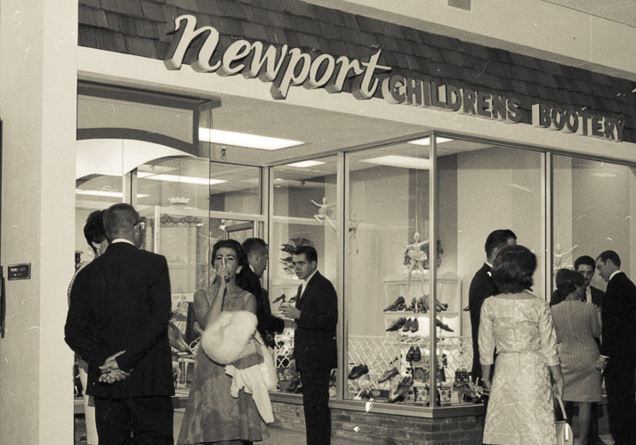 94bd26e29 Fashion Island Grand Opening Event 1967 Guests at the Fashion Island Grand  Opening ...