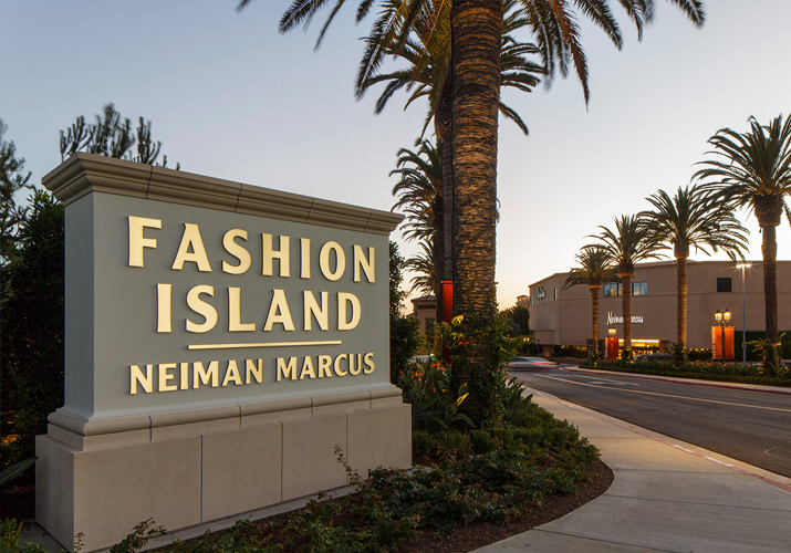 e0a80c10ecac Fashion Island entrance sign