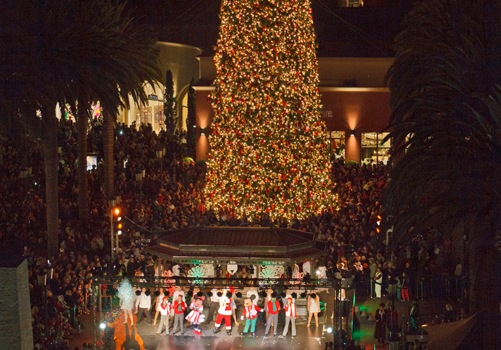 Fashion Island Christmas Tree Lighting Ceremony 2019 Fashion Island | 50th Anniversary | Historical Timeline